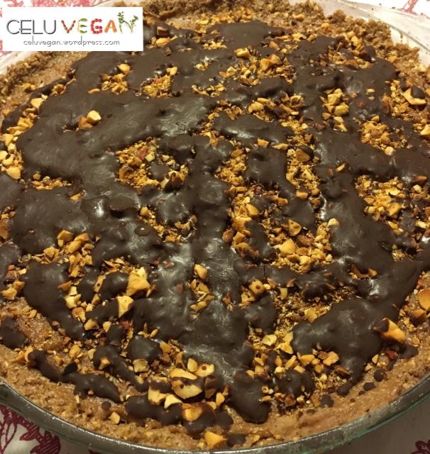 Tarta-de-Mantequilla-de-Maní-Vegana