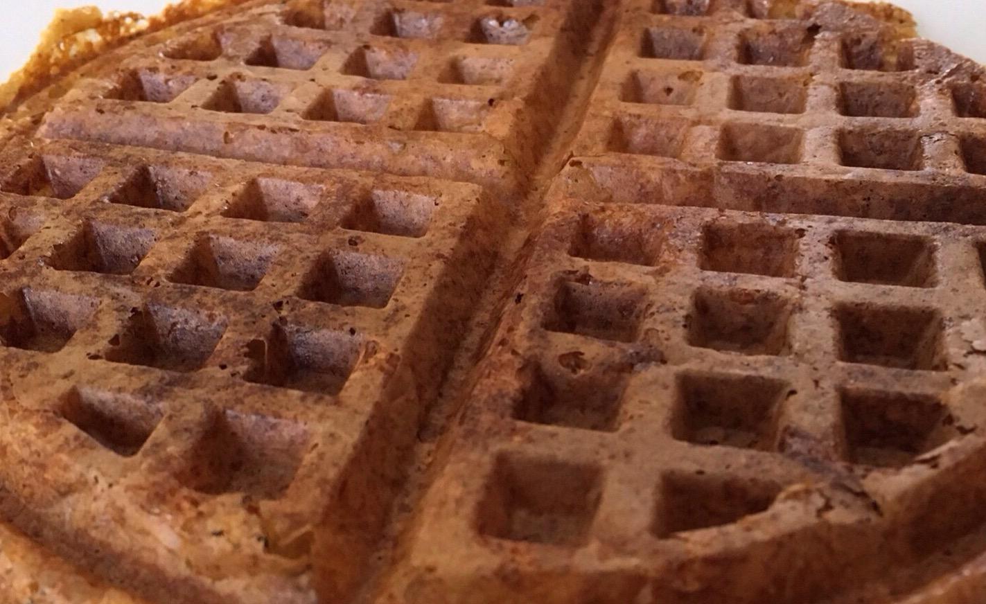 Waffles-de-Calabaza