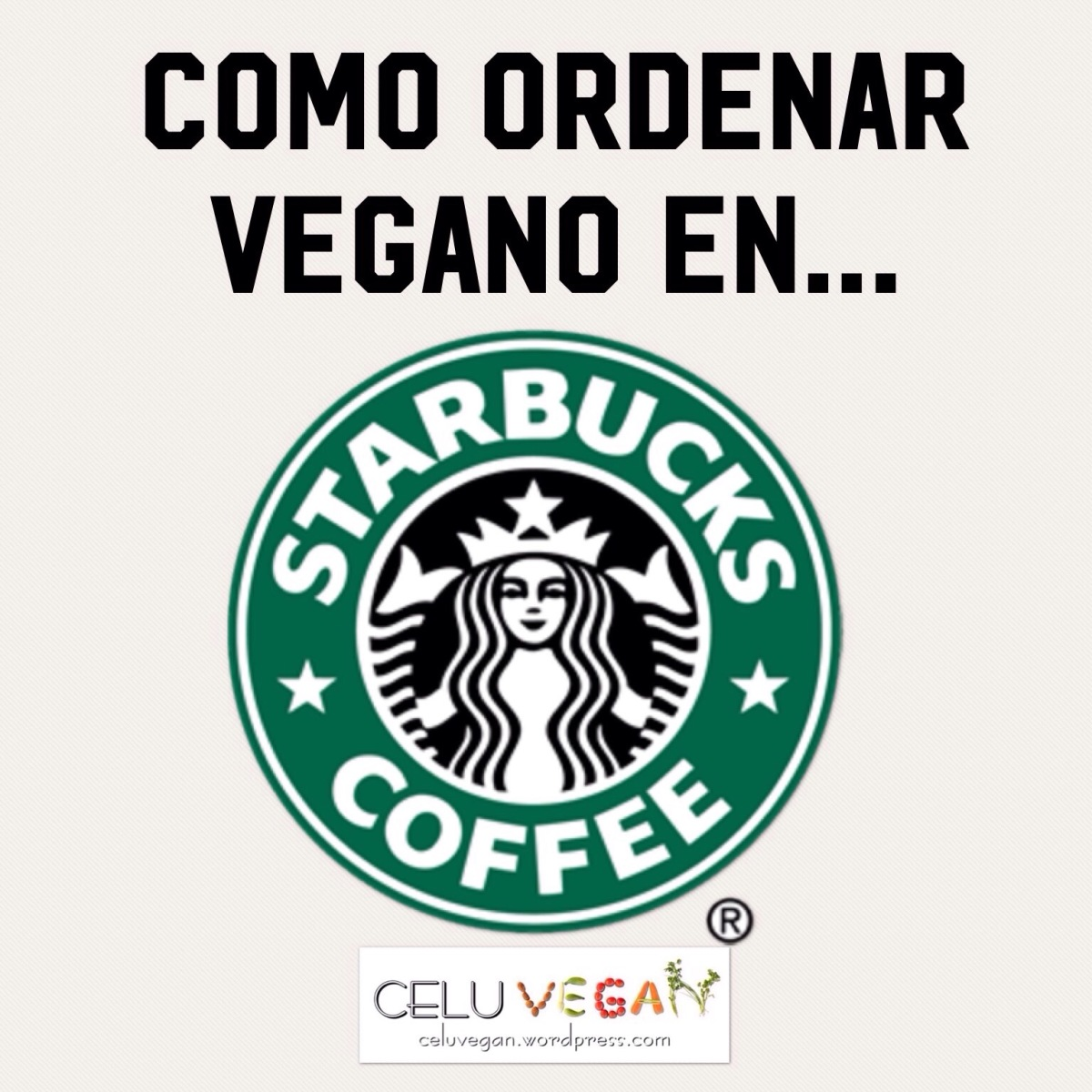 Como ordenar vegano en Starbucks