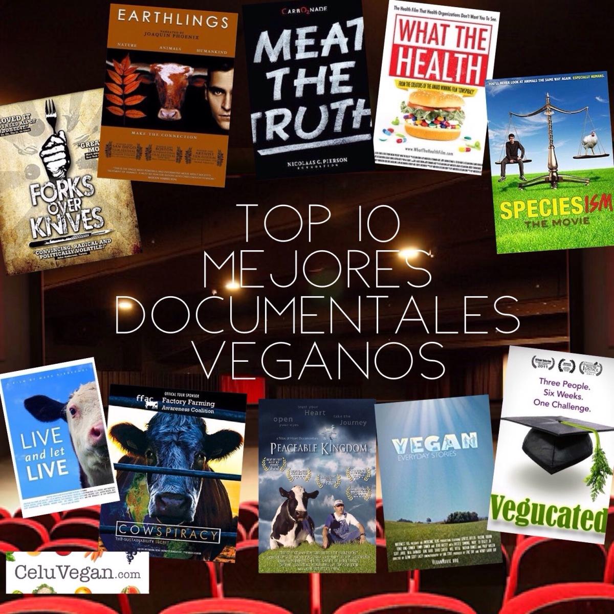 Top 10 Mejores Documentales Veganos