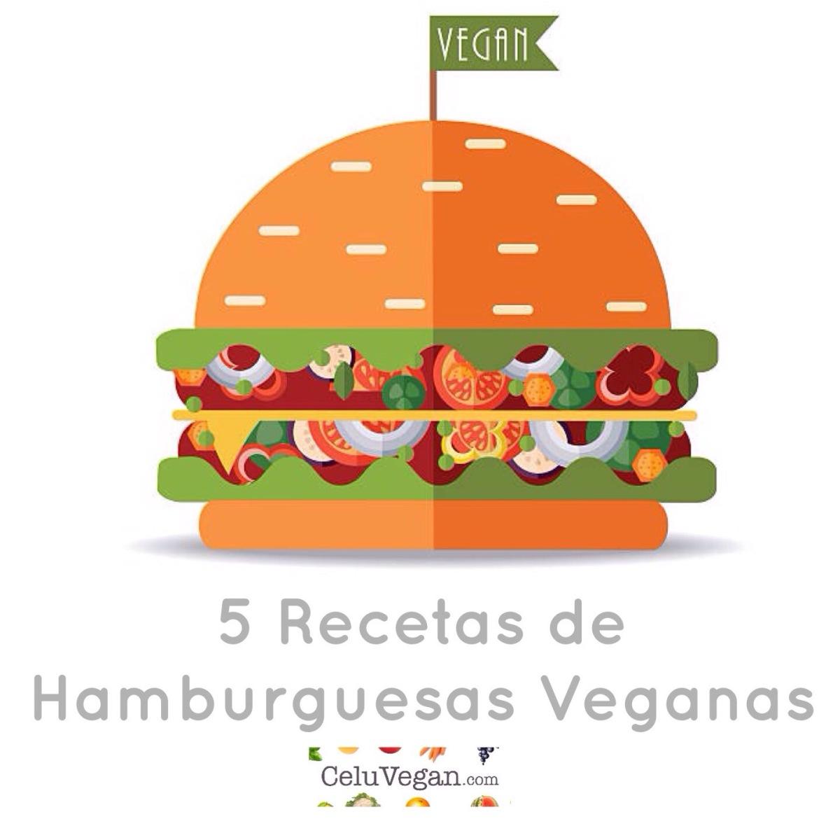 5 Recetas de Hamburguesas Veganas
