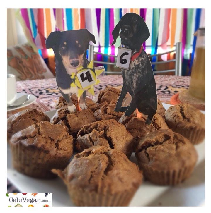 Cupcakes-Veganos-de-Zanahoria-para-Perros-3