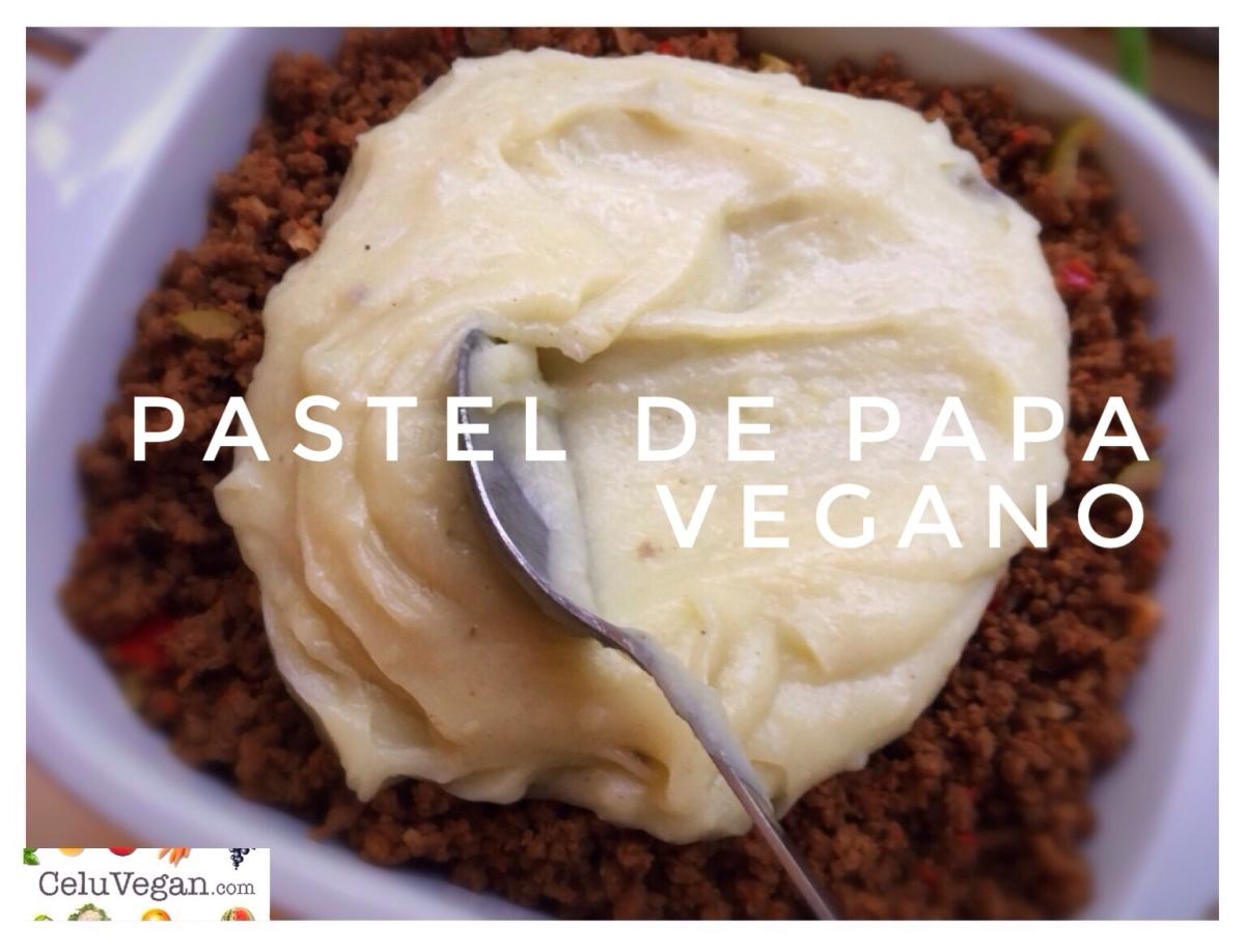 Pastel de Papa Vegano