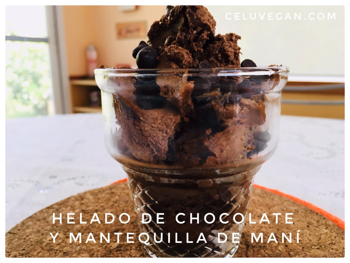 Helado de Chocolate y Mantequilla de Maní